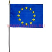 Флаг Евросоюза 14х21 см, 12 шт/бл