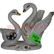 Лебеди из фарфора (KL-1050) высота 7,5 см 180 шт/кор