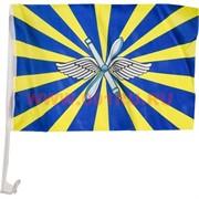 Флаг ВВС России 30х45 с креплением на машину, 12 шт/бл