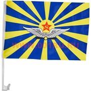 Флаг ВВС СССР 30х45 с креплением на машину, 12 шт/бл