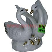 Лебеди из фарфора (KL-263) высота 7,5 см 144 шт/кор