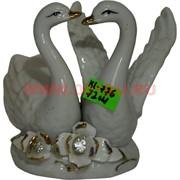 Лебеди из фарфора (KL-776) высота 10 см 72 шт/кор