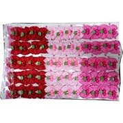 Зажим детский 3 цвета (вишенки, бантик), цена за 12 шт