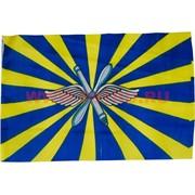 Флаг ВВС России 90х145 см, 10 шт/бл