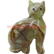 Котик из оникса 10 см (4 дюйма)