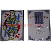 Карты игральные № 9899 с пластиковым покрытием 54 карт, цена за 12 упаковок