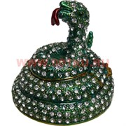 Символ 2025 года Шкатулка Змея (4281) со стразами