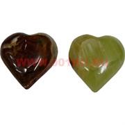 Сердца из оникса 7 см, цена за пару