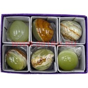 Яйца из оникса 5 см (1,5 дюйма) цена за 6 шт