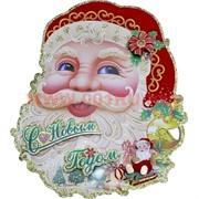 "Картинка (DM-8) С Новым Годом ""Дед Мороз"" цена за 10 шт"
