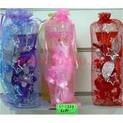 Свеча гелевая с подсветкой GL-1324, 6 цветов,цена за 60шт