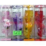 Свеча гелевая с подсветкой GL-1333, 5 цветов,цена за 60шт