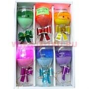 Свеча гелевая с подсветкойи GL-1334, 6 цветов,цена за 120шт