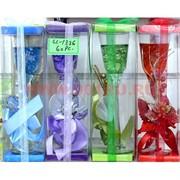 Свеча гелевая с подсветкой GL-1336, 6 цветов,цена за 60шт