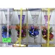Свеча гелевая GL-1340, 4 цвета,цена за 60шт