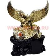Орел 33 см на деньгах на подставке (под дерево)