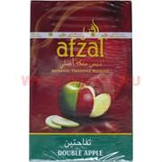 "Табак для кальяна Afzal 50 гр ""Двойное яблоко"" Индия (табак афзал Double Apple)"