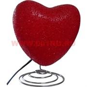 Светильник «сердце» красное