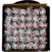 Кольца светящиеся силиконовые Hello Kitty цена за 36 шт