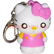 Брелок-фонарик Hello Kitty 12 шт/уп