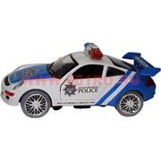 Полицейская машина музыкальная игрушка (ездит, светится)