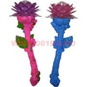 Светящаяся игрушка «цветок лотоса» со звуком крутится 36 см