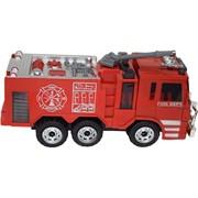 Пожарная машина Fire Truck музыкальная игрушка на батарейках