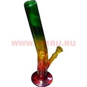Бонг стеклянный  цветной 42см