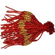 Браслет на руку 100 шт «красная нитка + фурнитура металл» цена за 100 шт