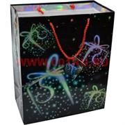 Пакет подарочный 26х32 см, рисунки в ассортименте