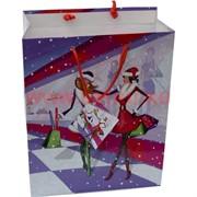 Пакет подарочный 18х23 см, рисунки в ассортименте