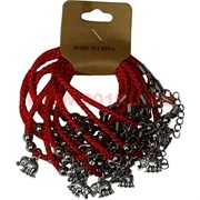 Браслет на руку «красная нитка + слоник» цена за 12 шт