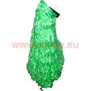 Парик с ободком салатовый 65 см