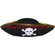 Шляпа пиратская с черепом