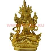 Фигурка буддийская Зеленая Тара металл (717A) 8 см