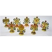 Набор буддийских символов 8 шт металл (цена за набор)