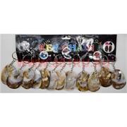 Брелок «Петухи из перламутра» цена за 12 шт