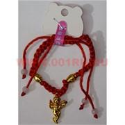 Браслет «красная нитка + ангелочек» цена за 12 шт