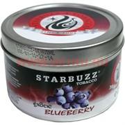 "Табак для кальяна оптом Starbuzz 250 гр ""Blueberry Exotic"" (голубика) USA"