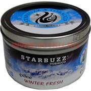 "Табак для кальяна оптом Starbuzz 100 гр ""Winter Fresh Exotic"" (зимняя свежесть) USA"