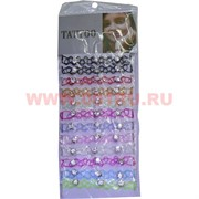 """Браслет """"Tatoo"""" со стразами (HR-S-829) цена за 12 шт/уп цвета в ассортименте"""