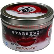 "Табак для кальяна оптом Starbuzz 100 гр ""Passion Kiss Exotic"" (страстный поцелуй) USA"