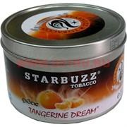 "Табак для кальяна оптом Starbuzz 100 гр ""Tangerine Dream Exotic"" (мандарин) USA"