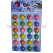 Игрушка прыгающий мячик 3 см, 24 шт/уп (высоко прыгает), цена за упаковку
