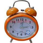 """Часы будильник """"овал"""" кварцевые 3 цвета"""