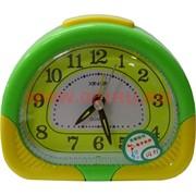 Часы будильник кварцевые полукруглые
