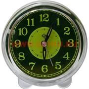 Часы будильник кварцевые круглые