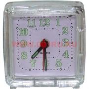 Часы будильник малый кварцевый (модели в ассортименте)