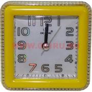 Часы будильник кварцевые квадратные