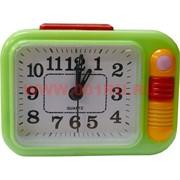 Часы будильник кварцевые прямоугольные